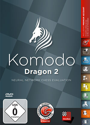 Komodo Dragon 2: Neural Chess Network- Chess Playing Software on Download