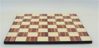 """American Walnut Decoupage 14"""" Chess Board with 1.75"""" square"""
