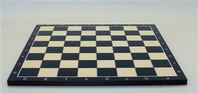 """Black and Ivory Alpha/Numeric Decoupage Board 14"""" with 1.8 square"""