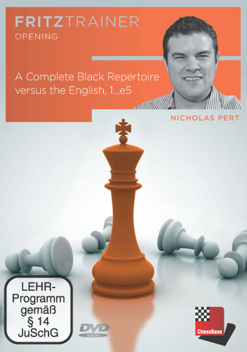 A Complete Black Repertoire versus the English, 1...e5 - Chess Opening Software Download