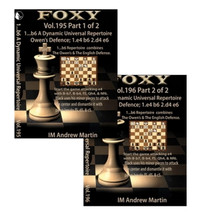 Foxy 195 and 196: 1...b6, A Dynamic Universal Repertoire: The Owens/English Defense - Chess Opening Video Download