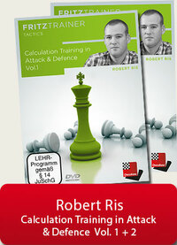 Calculation Training in Attack & Defense, Vol. 1 and 2 - Chess Training Software Download