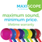 MAXIScope Single Adult Stethoscope