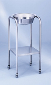 Stainless Single Basin Stand with Shelf