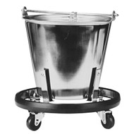 Stainless Steel Kick Bucket & Mobile Frame