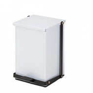 24 Quart Premium White Waste Receptacle