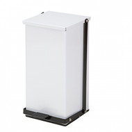 32 Quart Premium White Waste Receptacle