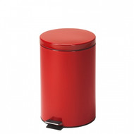 Medium Round Red Waste Receptacle 20 Quart