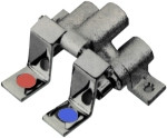 Floor Mounted Foot Pedals Faucet Valve (K25-1000)