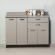 Clinton Base Cabinet with 4 Doors and 2 Drawers (8048)