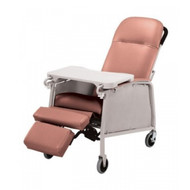 Lumex 574G Three Position Recliner - Rosewood