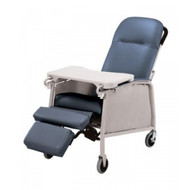 Lumex 574G Three Position Recliner - Blue Ridge