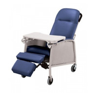 Lumex 574G Three Position Recliner - Royal Blue