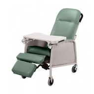 Lumex 574G Three Position Recliner - Jade Green
