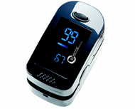 Roscoe 2-Way Color Display Finger Pulse Oximeter