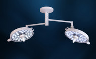 Double Head Ceiling Light  with Newly restyled Mount