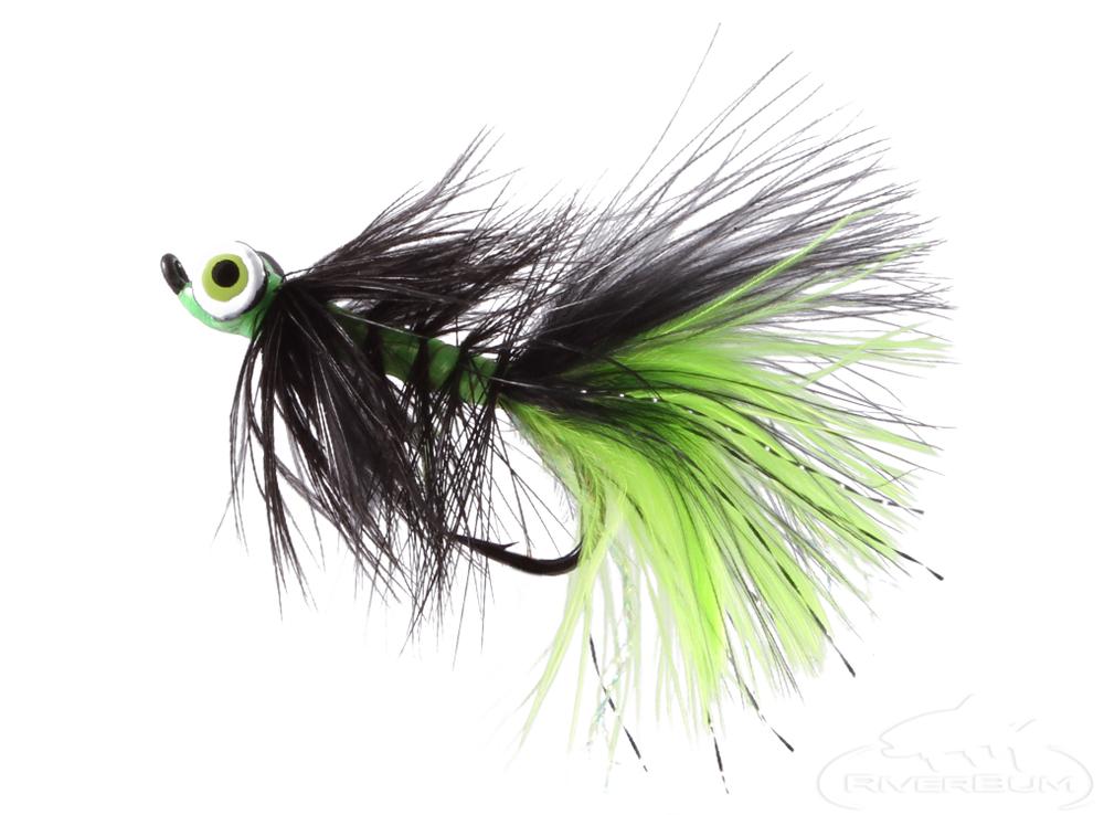 Dredge, Lead Eye, Black-Chartruse