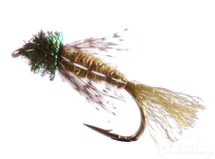 Caddis Pupa Emerger, Partridge, Olive