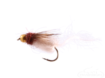Sparkle Pupa Emerger, Bead Head, Tan