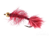 Leech, Mini, Bead Head, Burgundy