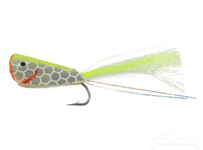 Crease Fly-Yellow/Chartreuse
