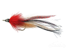Bullethead Baitfish-Red/White