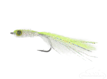 Bright Buddy-Chartreuse/White