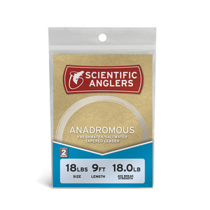 Scientific Anglers Leader 12' Anadromous 2 Pack