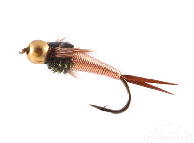 Copper John Nymph, Bead Head, Copper