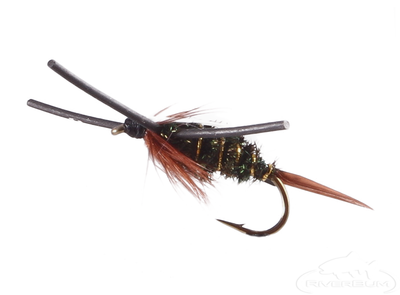 Prince Nymph, Rubber Legs