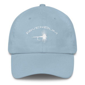 Carolina Blue Dry Fly RiverBum Hat