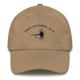 RiverBum Dry Fly Khaki Dad Hat