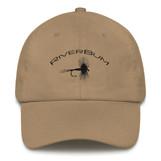 RiverBum Dry Fly Khaki Dad Hat