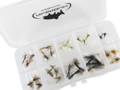 Trout Dry Flies Assortment - 30 Piece