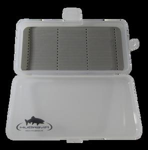 RiverBum Signature Small Streamer Box with Slot Foam Line