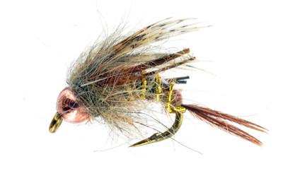 Gardner's Never Bug Brown Dry Fly