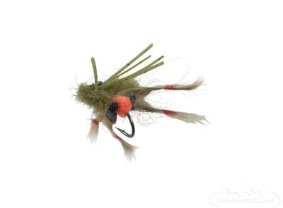 Kung Fu Crab Olive Tan