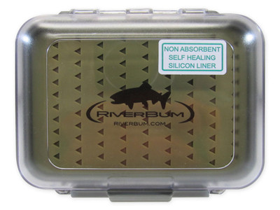 RiverBum Medium Waterproof box w/Silicon Liner