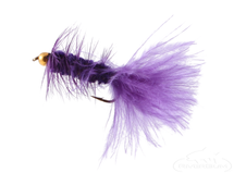 Wooly Bugger, Bead Head, Purple