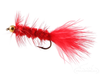 Wooly Bugger, Bead Head, Red