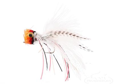 Bass Popper, Redhead, Red