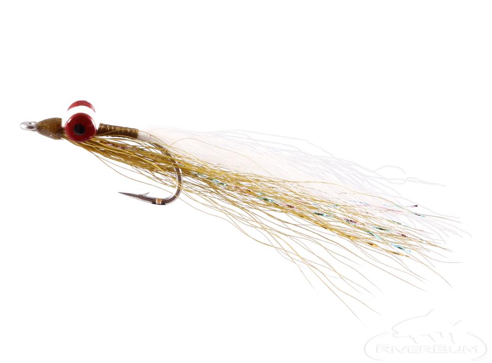 3 Saltwater DISCO SHRIMP FISHING FLIES ~ Size 2//0 ~ Three Flies