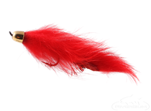 Bunny Leech, Red, Cone Head, Salmon Hook