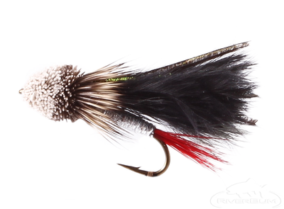 Muddler Minnow, Marabou, Black Fly from RiverBum