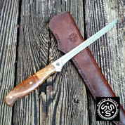"Lacy Smith - ""Cahaba"" 440C Fillet / Boning Knife - SK2007441-FLS"