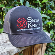 SK Gear - Smith Knives Hat - Black & Charcoal Gray - SK9998-HAT