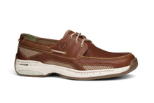 Dunham Model MCN410BR. Men's Boatshoe with Rollbar Support.  Widths B-6E, Sizes Up to 18!