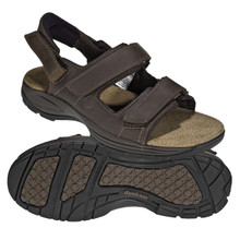 Dunham MCR455 Rugged Sandal.  Adjustable Straps and Widths B to 6E