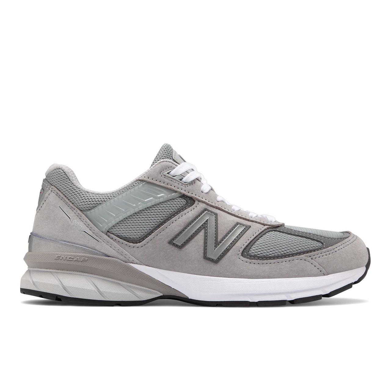 wholesale dealer 8eca2 f9e37 New Balance Men's M990 Version 5 in Gray. Premium Motion Control Running  Shoe in Widths AA to 4E. Made in USA!