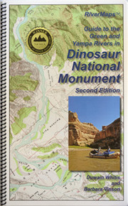 Dinosaur National Monument Green and Yampa Rivers Map, 2nd Edition